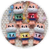 寺門工務店オリジナルキャラクター「テラカドダイちゃん」ストラップ画像